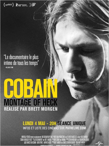 Un documentaire consacré à Kurt Cobain au cinéma
