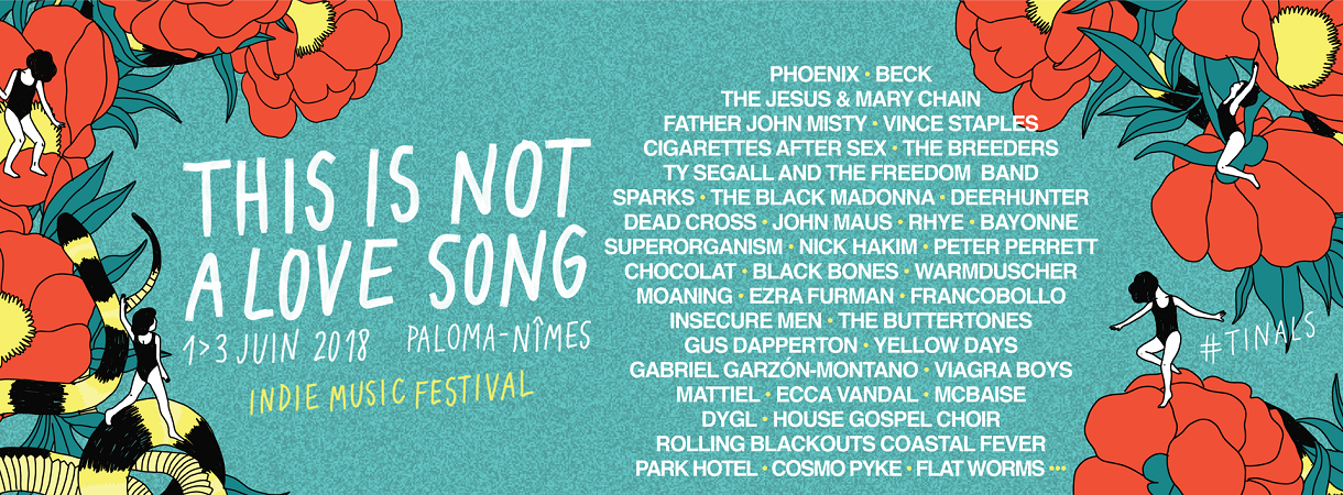Découvrez la programmation du festival This Is Not A Love Song
