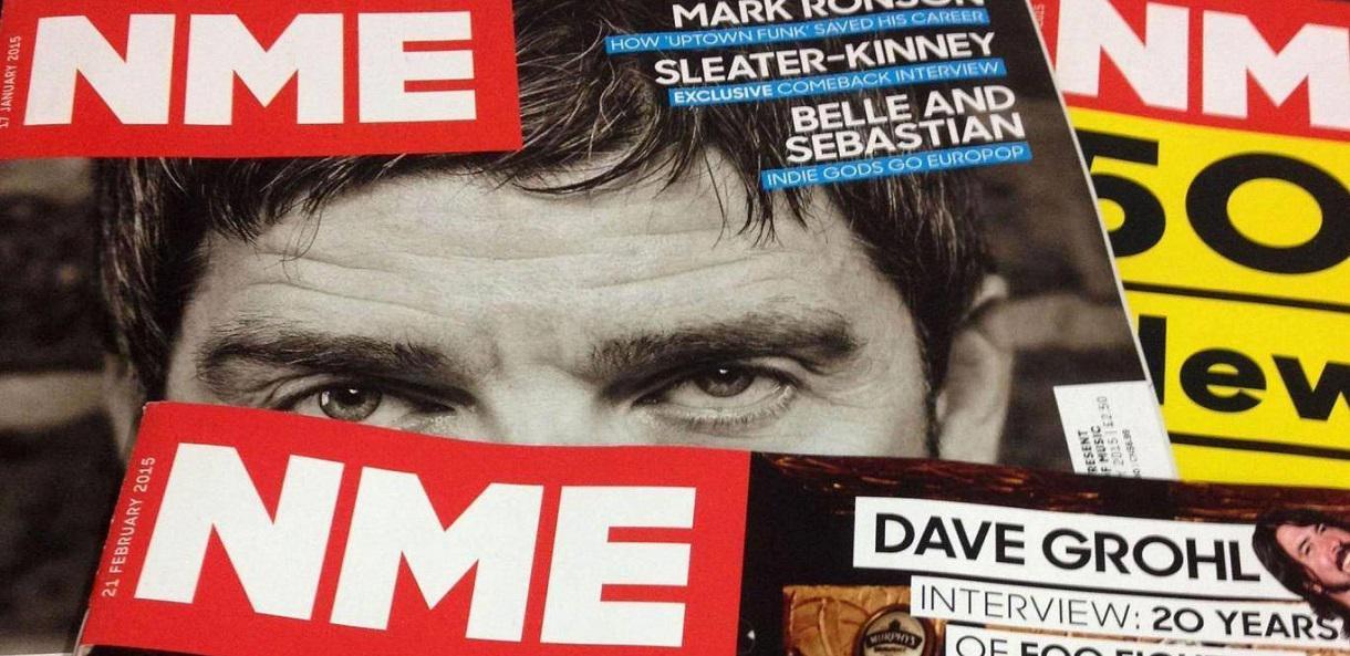 NME en version papier c'est terminé !