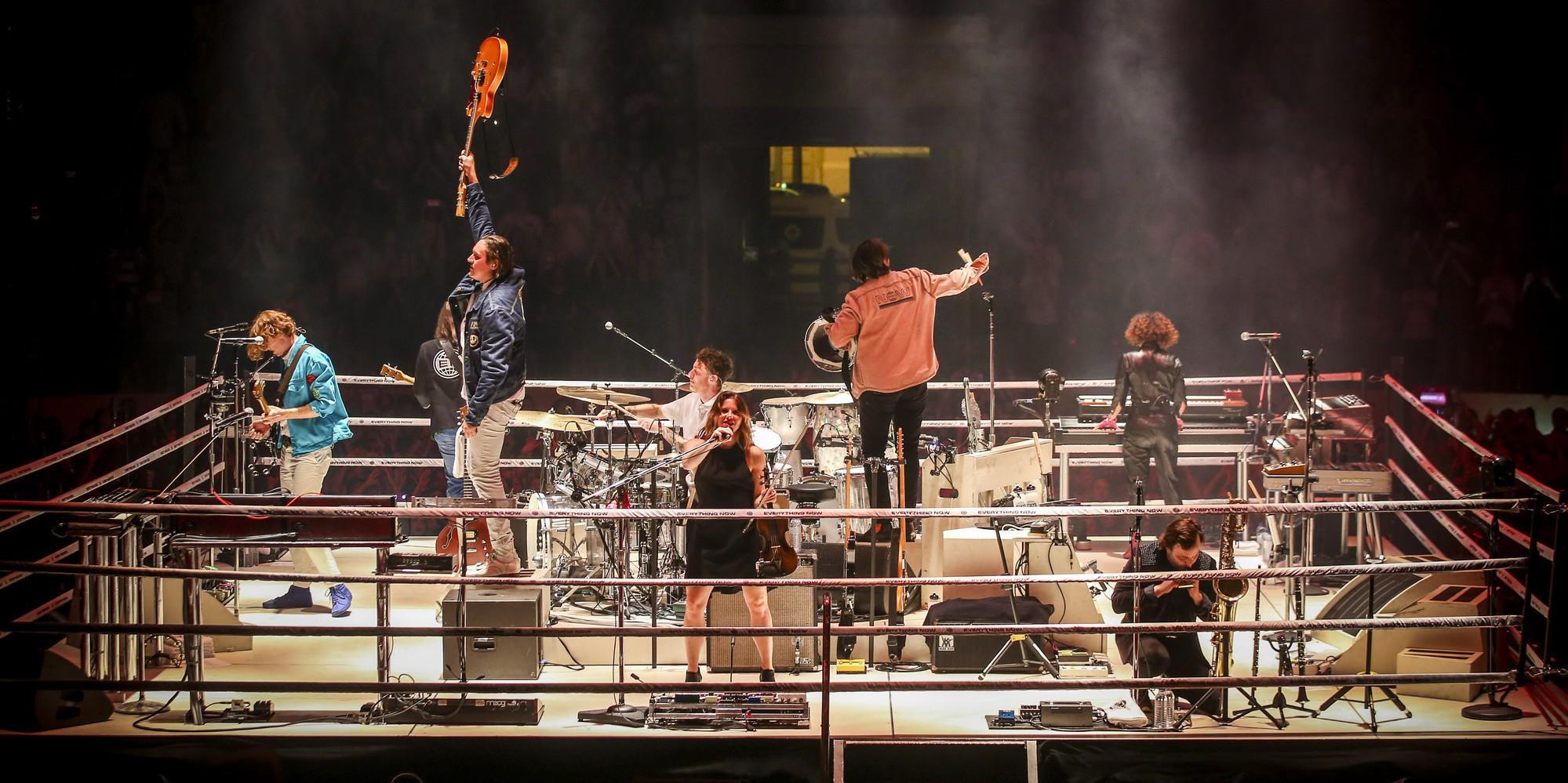 Arcade Fire retourne l'AccorHotels Arena à Paris