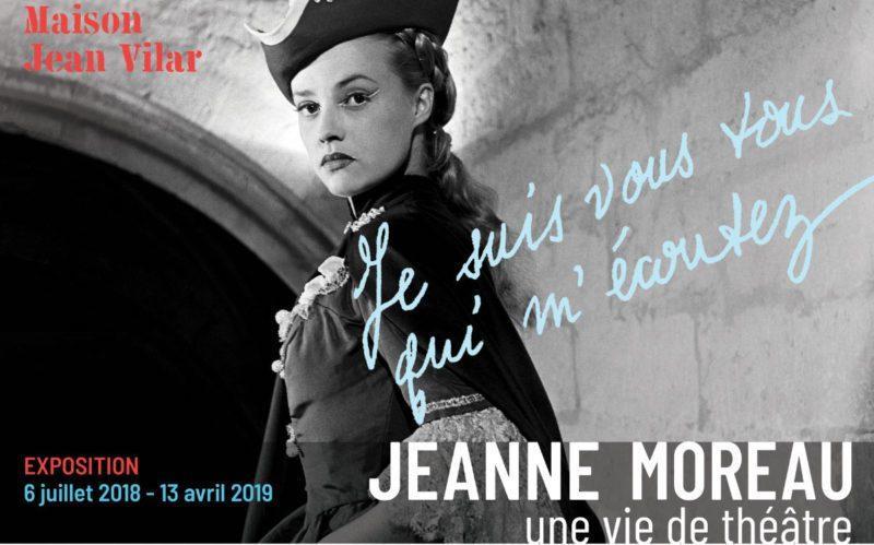 Festival d'Avignon 2018 :Je suis vous tous qui m'écoutez. Jeanne Moreau, une vie de théâtre