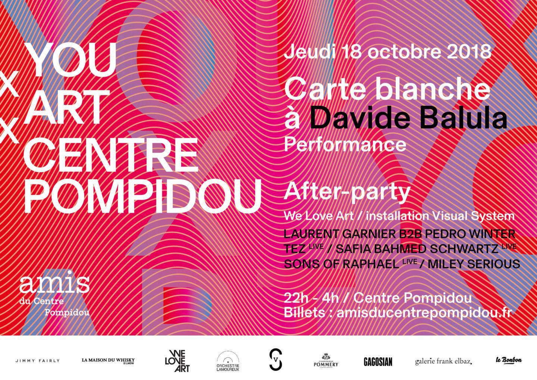 Pour la FIAC, le Centre Pompidou se transforme en dancefloor digital !