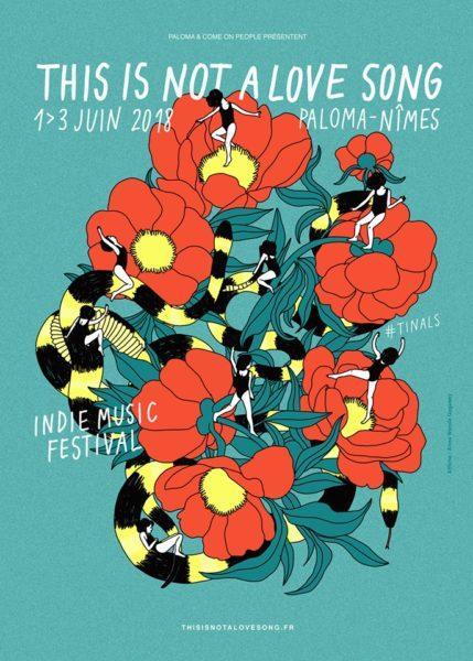 Le classement TOPAFF des 100 meilleures affiches des festivals français édition 2018