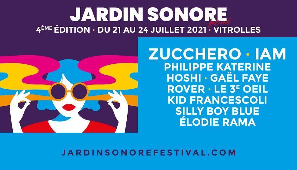 4e édition du JARDIN SONORE festival à Vitrolles du 21 au 24 juillet