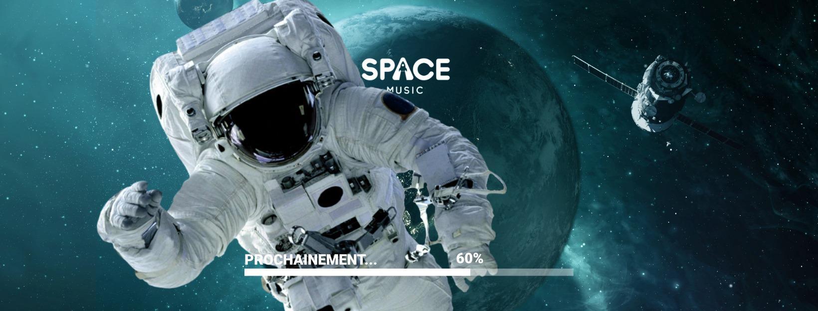La nouvelle app' Space Music va combiner réseau social et streaming de vos DJs préférés