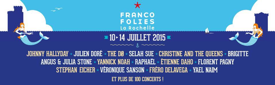 Découvrez la programmation des Francofolies de la Rochelle