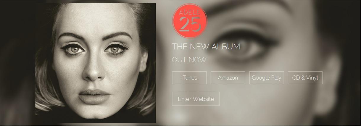 L'album d' Adèle pulvérise tous les records