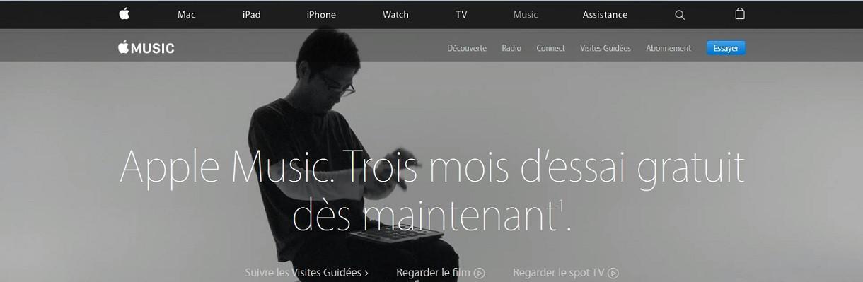 Apple Music, c'est plus fort que Spotify
