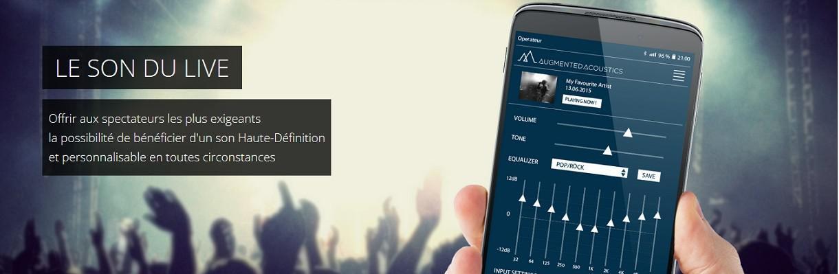 Augmented Acoustics, le son haute-fidélité en concert
