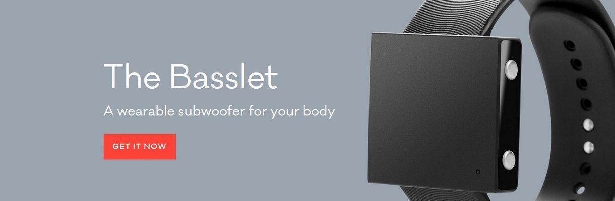 Basslet, un caisson de basse à votre poignet