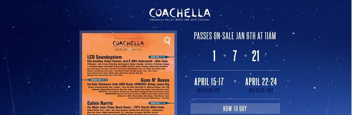 Coachella 2016, l'édition des reformations