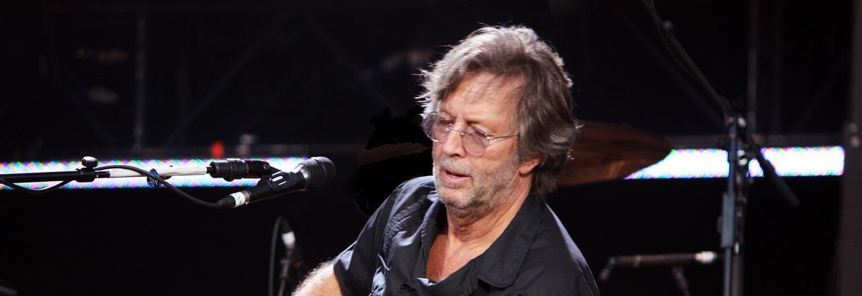 Eric Clapton, virtuose de la gratte
