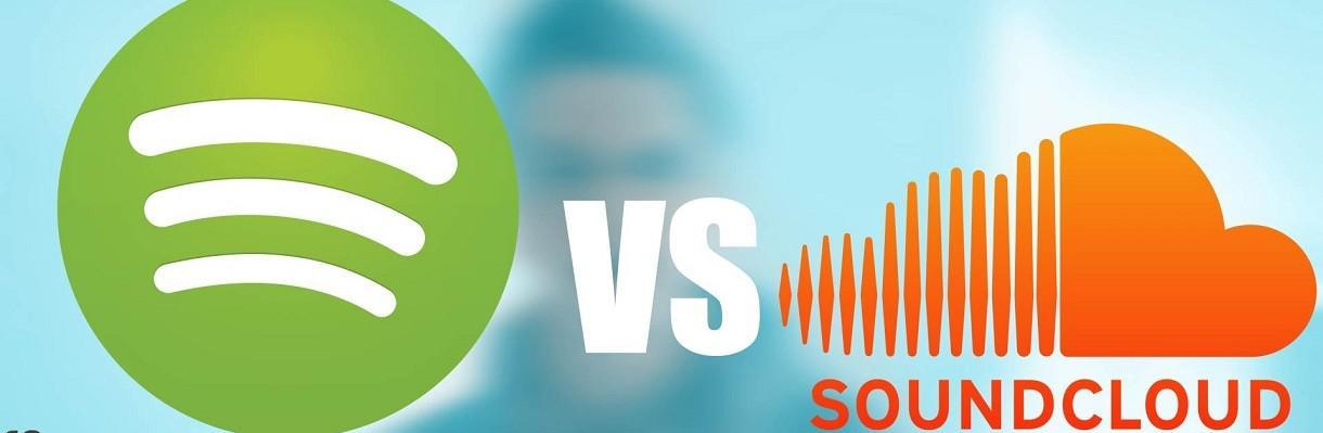 Spotify mène une attaque directe contre Soundcloud
