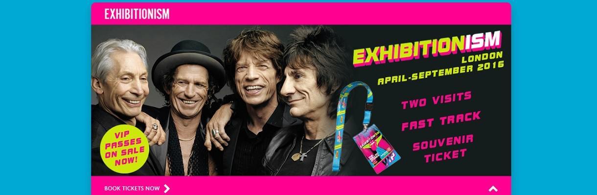 Un nouvel album et une expo pour The Rolling Stones
