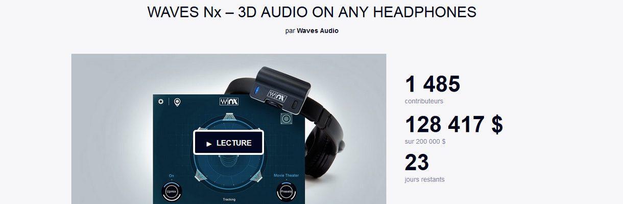 Waves NX, le son 3D dans votre casque