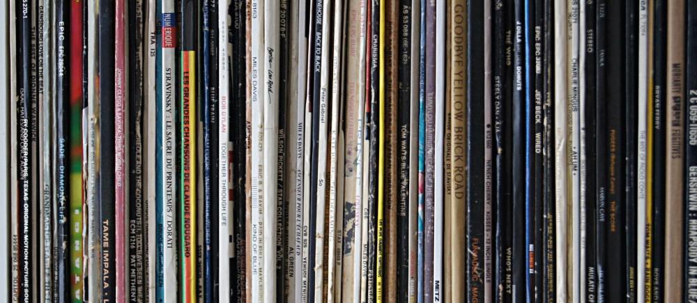 Des vinyles par milliers
