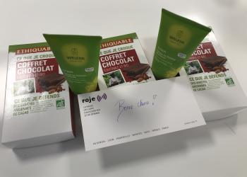 Gagnez un coffret de chocolat Ethiquable et une crème de douche vivifiante Weleda !